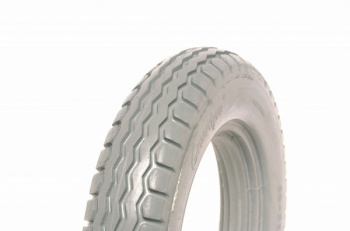 12.5 x 2.25 (30-32mm Rim Fit) Grey Solid Tyre For A Powerchair