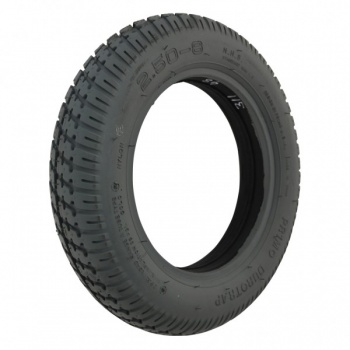 250 x 8 Grey Solid Duratrap Tyre For A Mobility Scooter