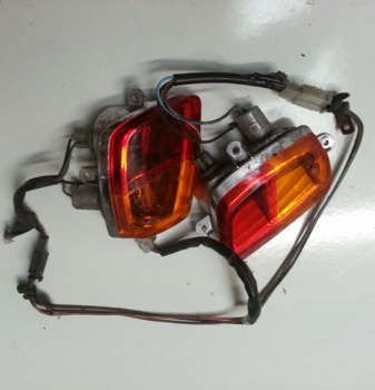 Used Pair of Brake & Indicator Blinker Lens For A Strider / Kymco Mobility Scooter Spare Parts S309