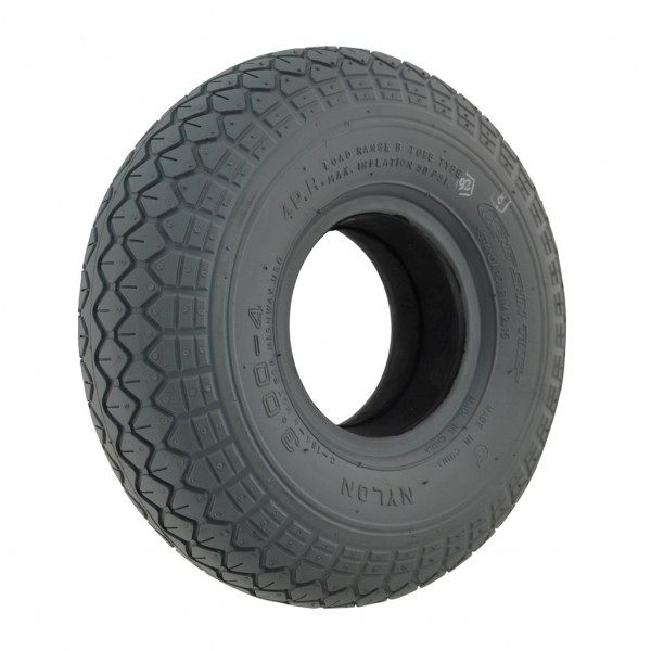 New 300 X 4 Grey Solid C154 58mm Tyre For A Mobility