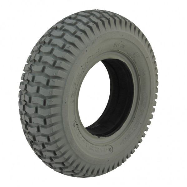 13 500 X 6 Grey Solid Tyre For A Mobility Scooter
