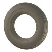 10 x 2 Greentyre Ribbed Grey Solid Tyre For A Mobility Scooter