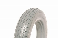 12.5 x 2.25 (26-28mm) Grey Solid Tyre For A Sunrise Powerchair