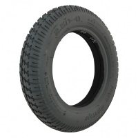 250 x 8 Grey Pneumatic Air Filled Duratrap Tyre For A Mobility Scooter