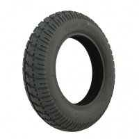 300 X 8 Grey Duratrap Tyre & Stepped Insert (Pride Type) For A Mobility Scooter