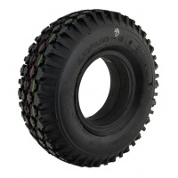 410/350 x 5 Black Block Solid Tyre For A Mobility Scooter