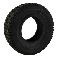 200 x 50 Black Ribbed Solid Tyre For A Mobility Scooter