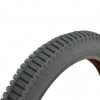 20 X 2.125 Grey Pneumatic Tyre For A Powerchair