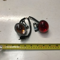 Used Brake & Indicator Blinker Lens For A Mobility Scooter S1614