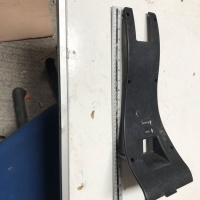 Used Steering Stem Faring For A Pride Mobility Scooter N2829