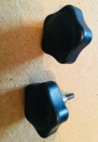 Used Armrest Knobs (Pair) For A Shoprider Mobility Scooter T010