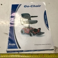 Used Owners Manual For A Pride Go Chair Powerchair S970