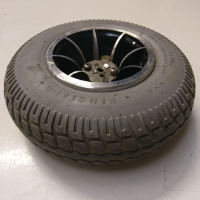 Used Rear Wheel 2.80/2.50-4 For A Shoprider Mobility Scooter Spare Parts S2166