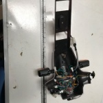 Used Steering Stem Faring & Head For A Pride Mobility Scooter S4177