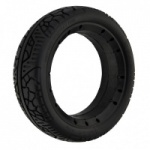 Size: 4 x 13'' Black Solid Tyre For A Pride Colt XL8 Mobility Scooter