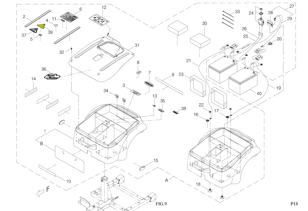 Shoprider Whisper Scootie S787na Spare Parts Diagram Directory