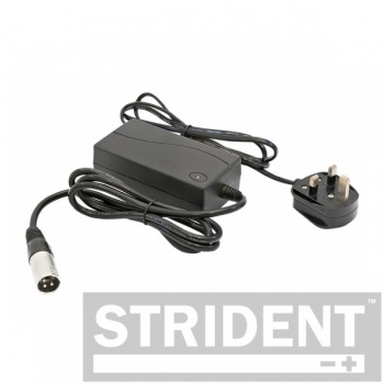 Strident 24v 2amp Battery UK Plug Charger For A Mobility Scooter