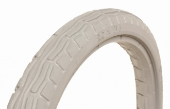 20 x 1 3/8 Grey Solid Wheelchair Tyre