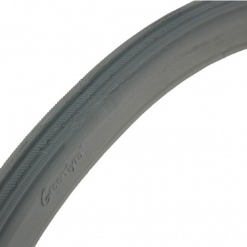 24 x 1 3/8 Grey Solid Wheelchair Tyre