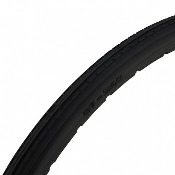 24 x 1 3/8 Black Solid Mobility Wheelchair Tyre