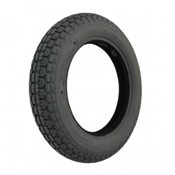 New 300 X 10 Grey Solid Block F60 Tyre For A Mobility Scooter