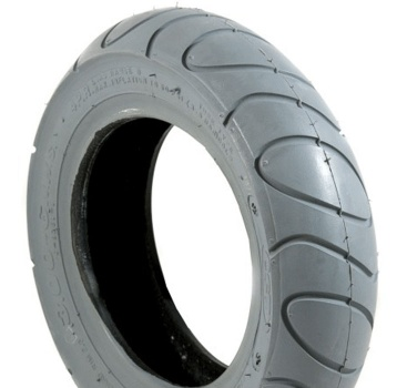 New 3.00-6 Grey Pneumatic Tyre Tire For A Mobility Scooter