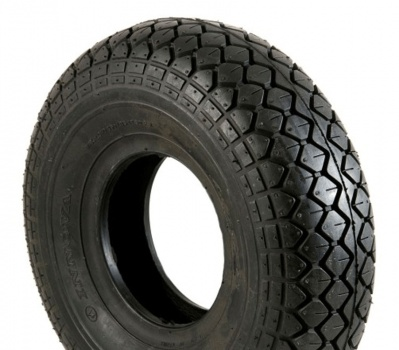New 330x100 (4.00-5) Diamond Block Black Innova Solid Tyre Scooter