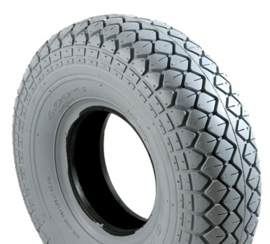 New 330x100 4.00-5 Innova 2815 Diamond Block Grey Solid Tyre Tire