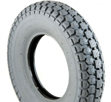 New 4.00-8 Grey Pneumatic Tyre Tire For A Mobility Scooter