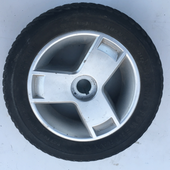 Used 3x9 Rear Solid Wheel & Tyre For A Mobility Scooter B3054
