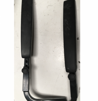 Used Pair of Armrests 2.5cm Gauge For A Mobility Scooter V7106