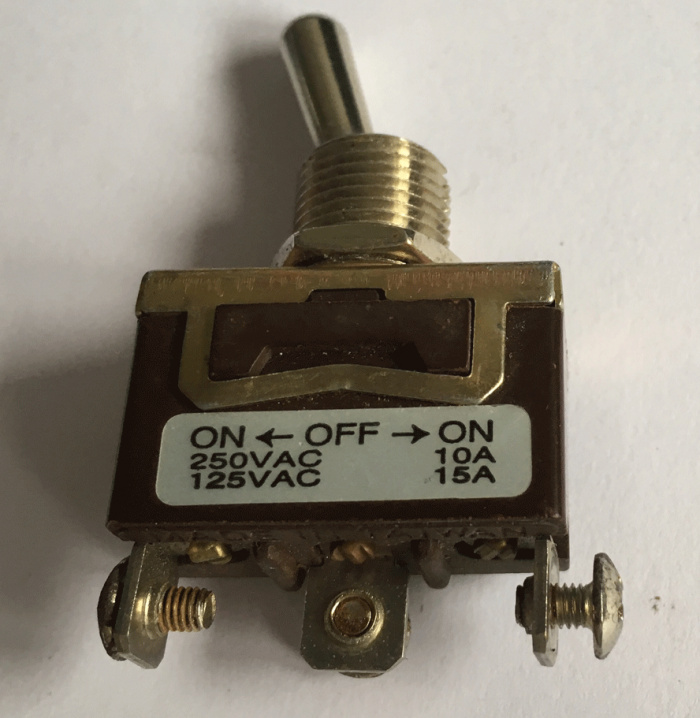 Used On-Off-On Tiller Switch For A Shoprider Mobility Scooter V7038