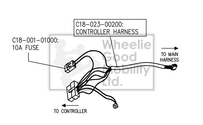 Wheeler Scooter Wire Harness on