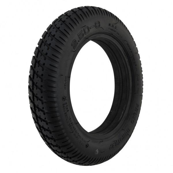 New 2.50-8 Black Solid Duratrap 48mm Tyre Tire For A Mobility Scooter