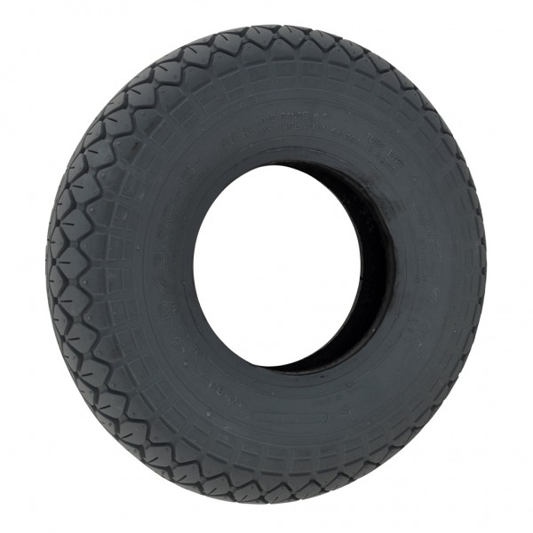 New 4.10/3.50-5 Grey Diamond C154 63mm Block Solid Tyre Tire Scooter