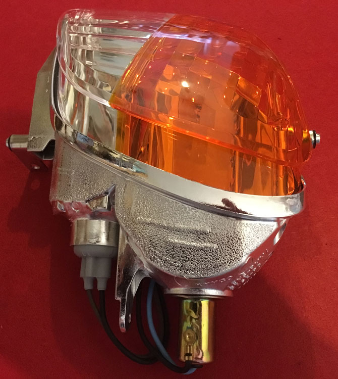 NEW Headlight & Indicator  Cluster Strider Kymco Maxi Scooter NS40