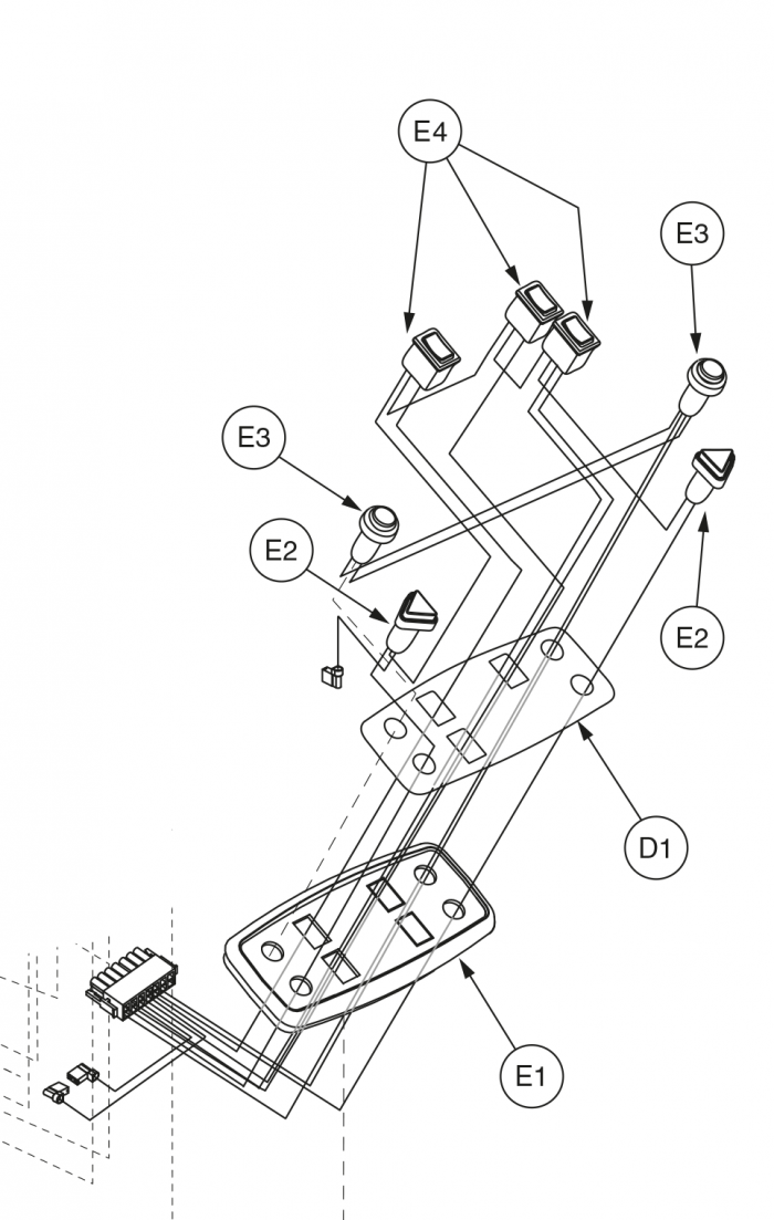 zoom jazzy 1122 wiring diagram