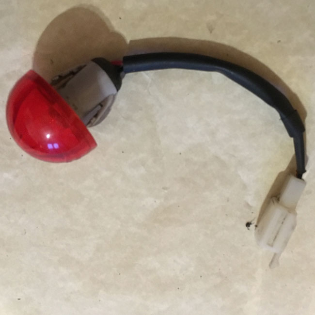 Used Brake Lens For A Shoprider Mobility Scooter 6286