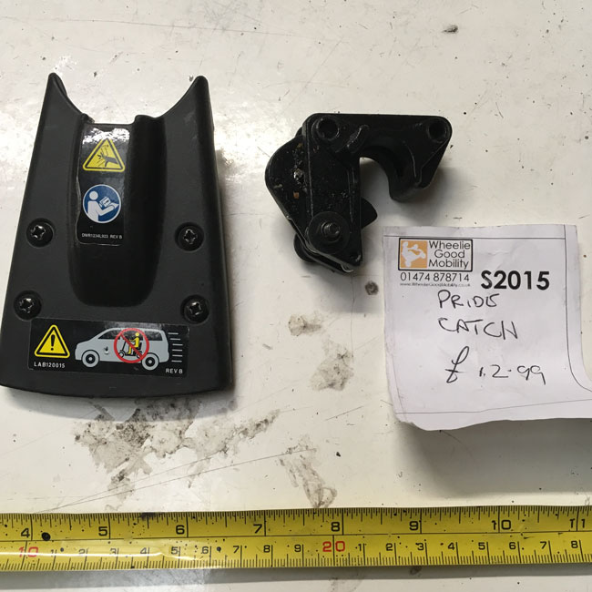 Used Front & Chassis Lock Clasp Pride GoGo Mobility Scooter S2015