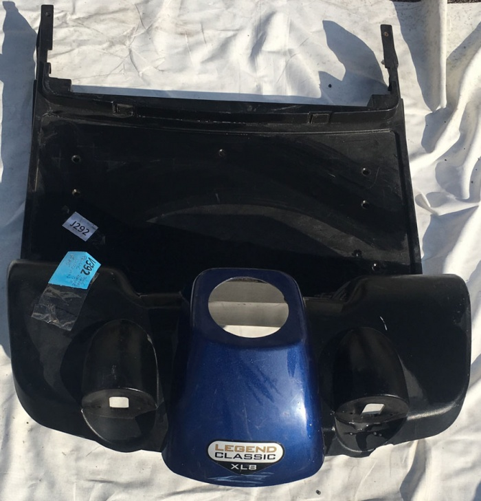 Used Front Faring For A Pride Legend Classic Mobility Scooter V392