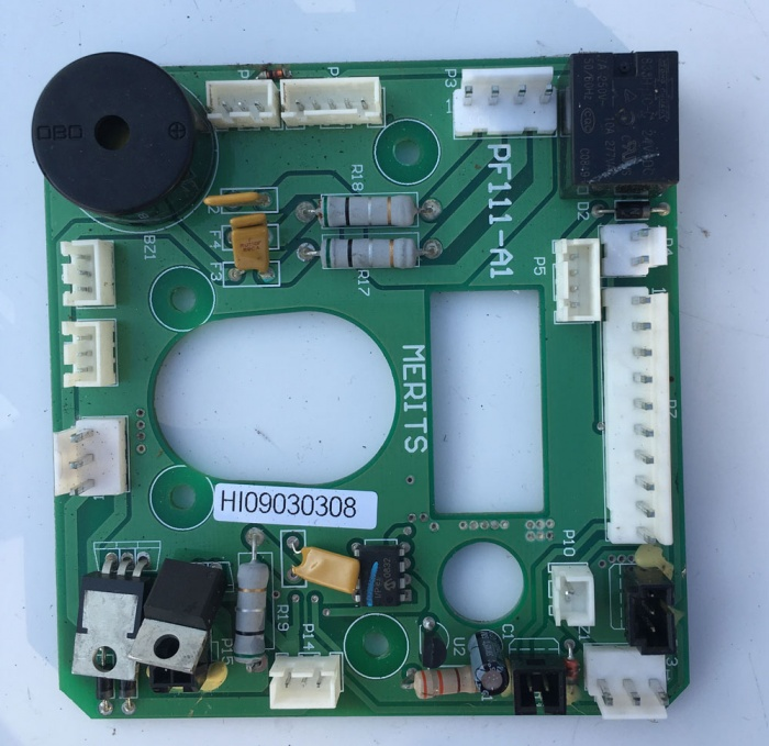 Used Merits Printed Circuit Board For A Mobility Scooter B2307