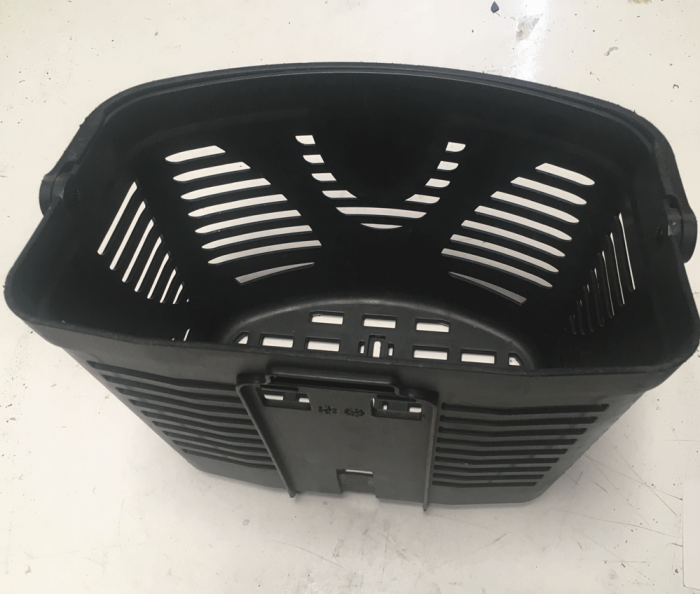 Used Plastic Basket For A Pride Mobility Scooter V7402