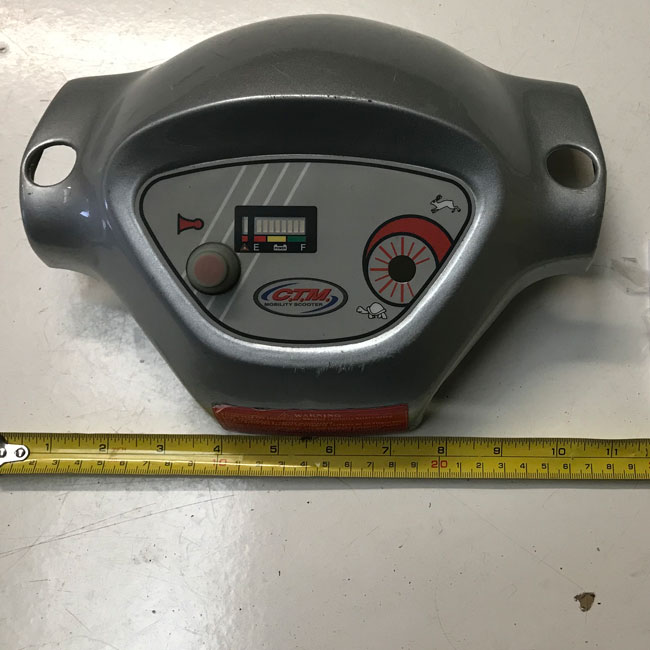 Used Tiller Face With PCB For A CTM Mobility Scooter S2157
