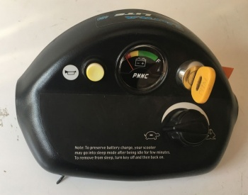 Used Tiller Head Faring For A Shoprider Cameo Mobility Scooter B1174