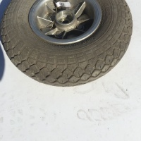 Used 410/350 x 5 Front Cheng Shin Pneumatic Wheel/Tyre For A Mobility Scooter - A87