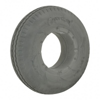 New 2.80/2.50-4 Grey Solid Tyre Tire For A Mobility Scooter