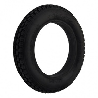 New 12.5x2.25 Black Solid Tyre Tire For A Powerchair / Wheelchair