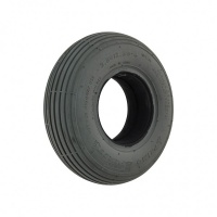 New 2.80/2.50-4 Grey Solid 53mm Ribbed Tyre Tire Mobility Scooter