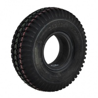 New 3.00-4 Black Solid Block 58mm Tyre Tire For A Mobility Scooter