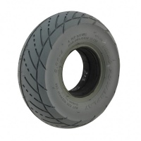 New 3.00-4 Grey Solid Scallop 58mm Tyre Tire For A Mobility Scooter